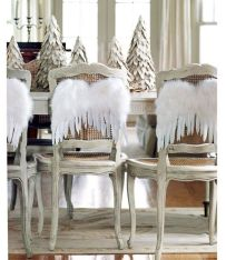 Angel Christmas chairs