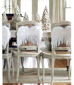 Angel Christmas chairs