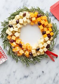Cheese Wreath