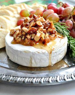 Honey Almond Baked Brie