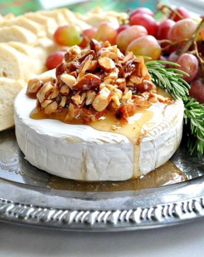 Honey Almond Baked Brie