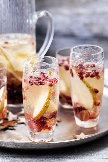 Grape and Pomegranate Sangria